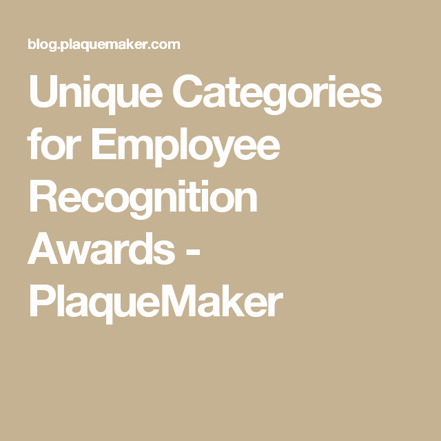 Funny Award Categories for Teachers Elegant Unique Categories for Employee Recognition Awards