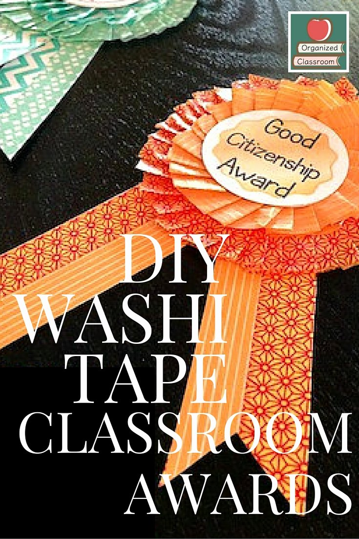 Funny Awards for Students Best Of Diy Washi Tape End Of Year Classroom Awards