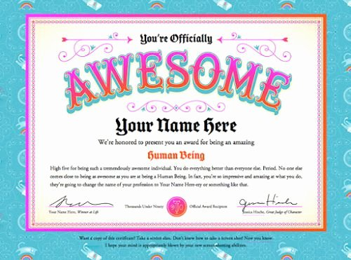 Funny Awards for Students Inspirational 8 Best Fun Certificate Templates Images On Pinterest