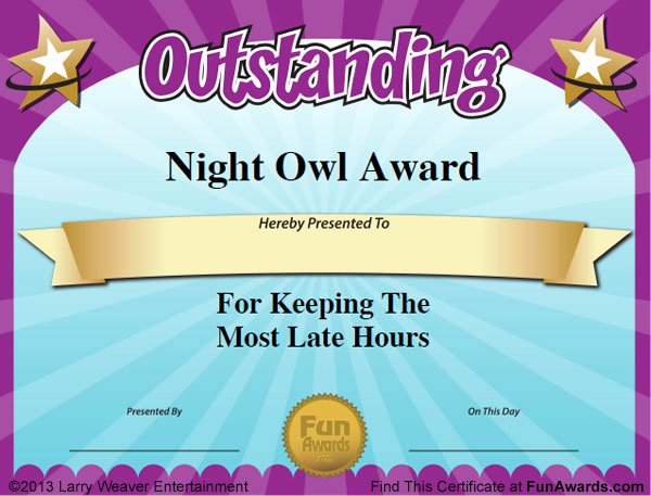 Funny Awards for Teachers Fresh Funny Teacher Awards™ 101 Printable Certificates Fun
