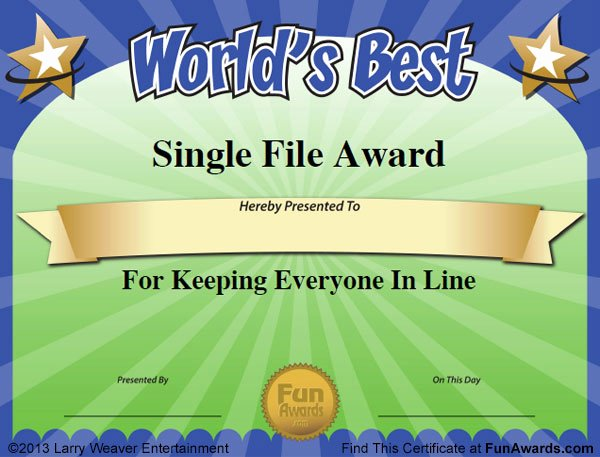 Funny Awards for Teachers New Funny Teacher Awards™ 101 Printable Certificates Fun