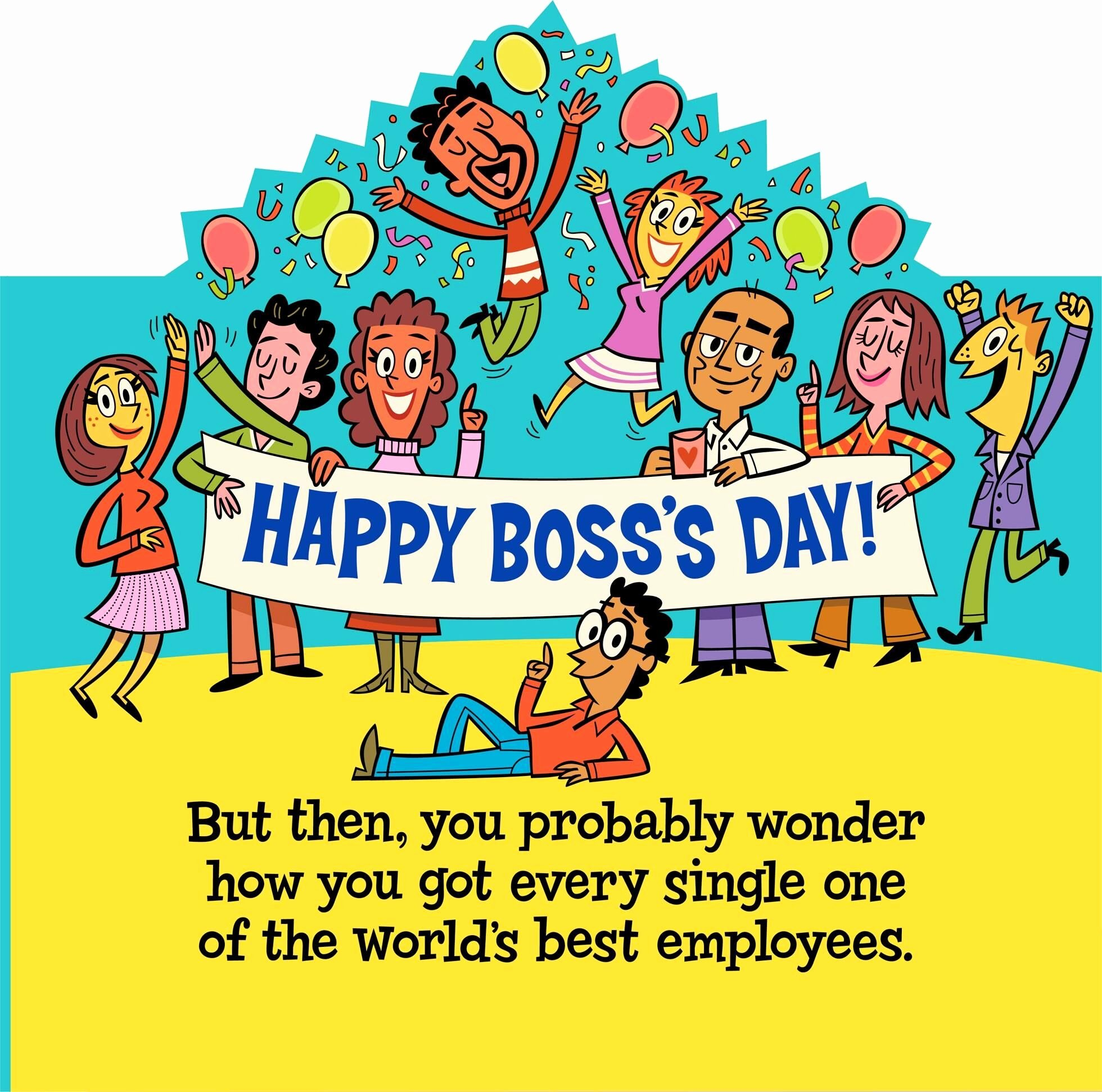 Funny Boss Day Pictures Best Of World S Best Boss and Employees Funny Boss S Day Card From