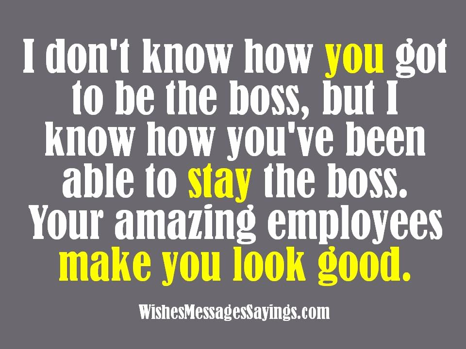 Funny Boss Day Pictures Unique Wishes and Quotes for Bosses Wishes Messages Sayings