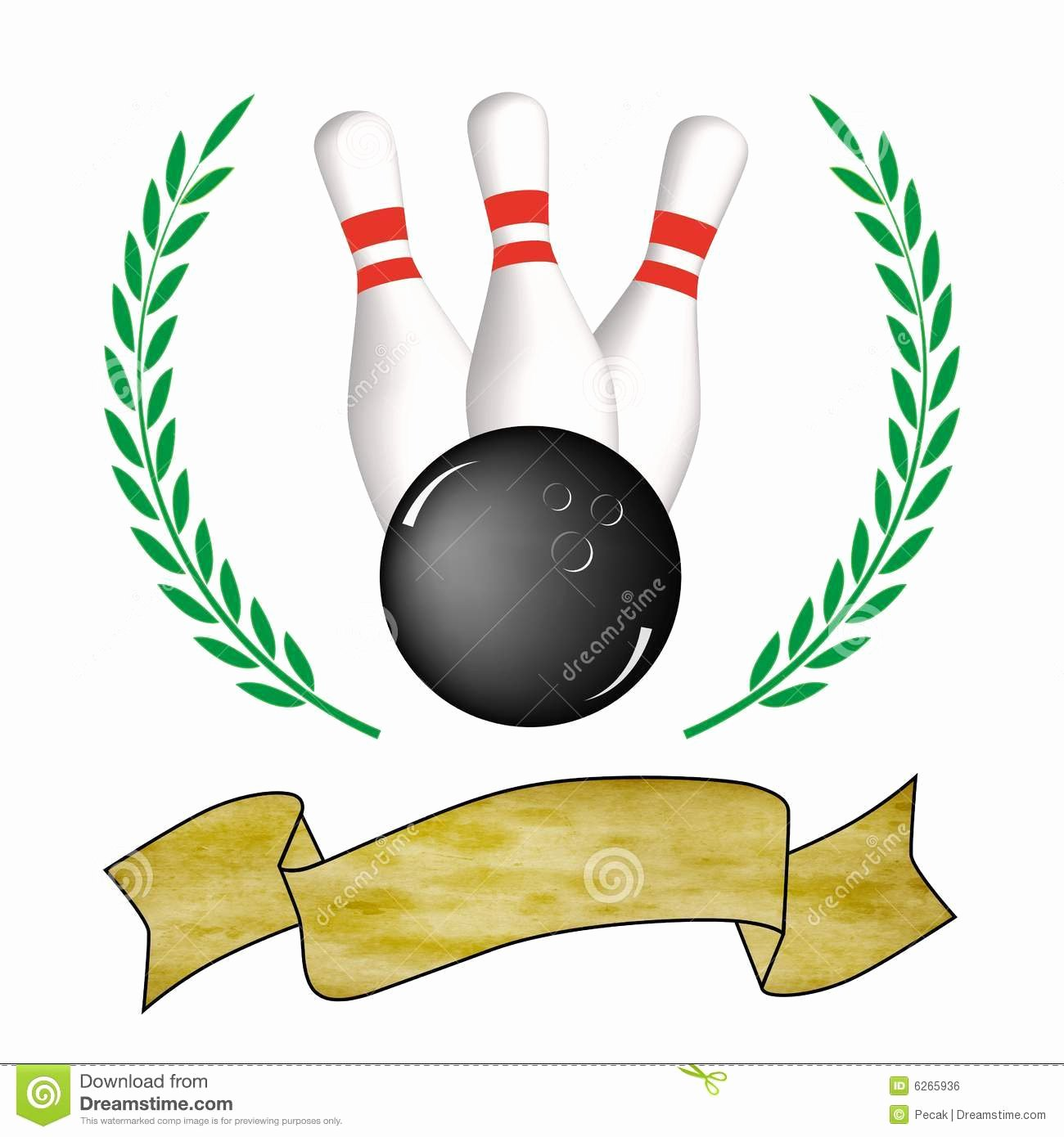 Funny Bowling Award Categories Elegant Bowling Poster Royalty Free Stock Image Image