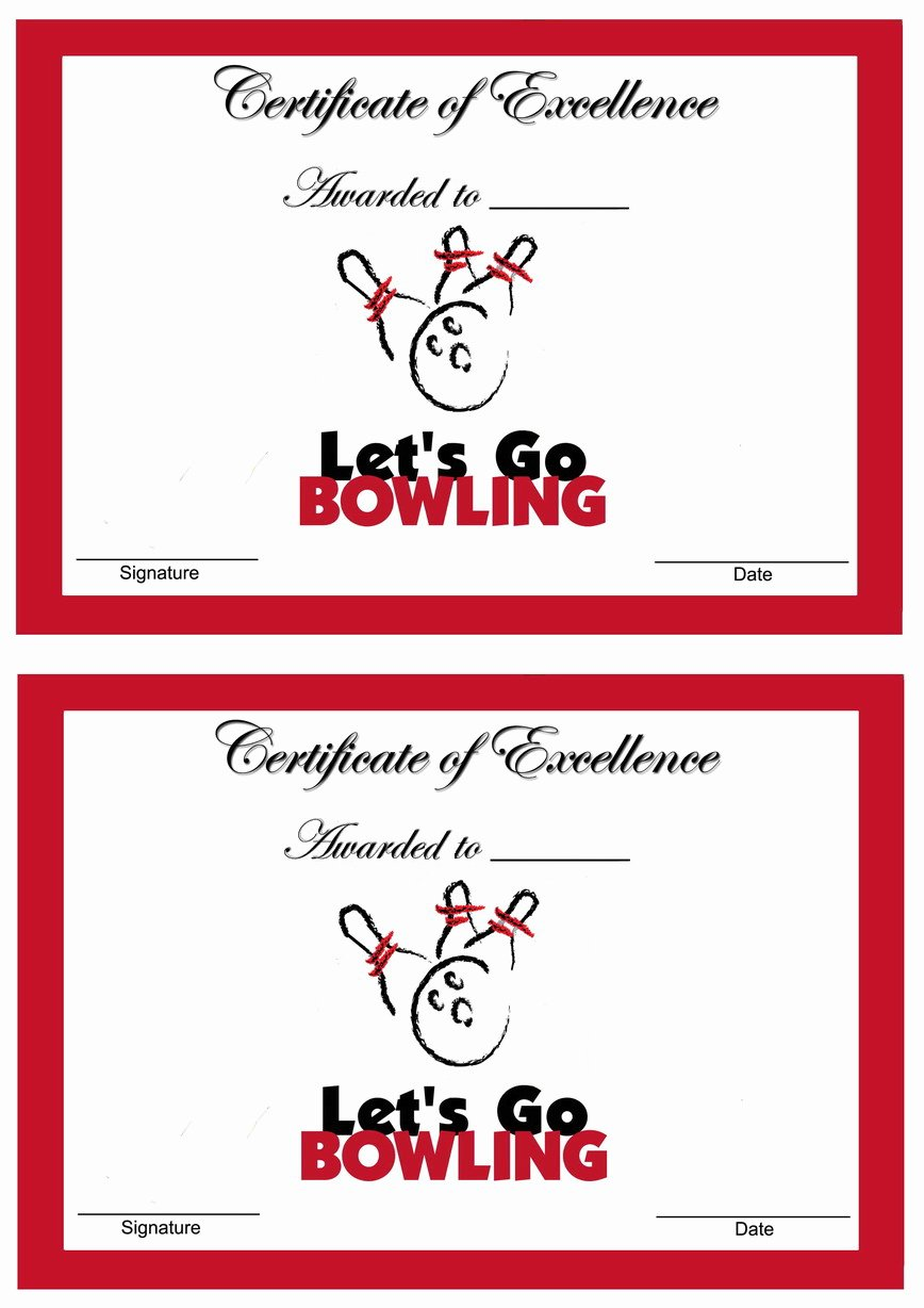 Funny Bowling Award Categories New Bowling Awards