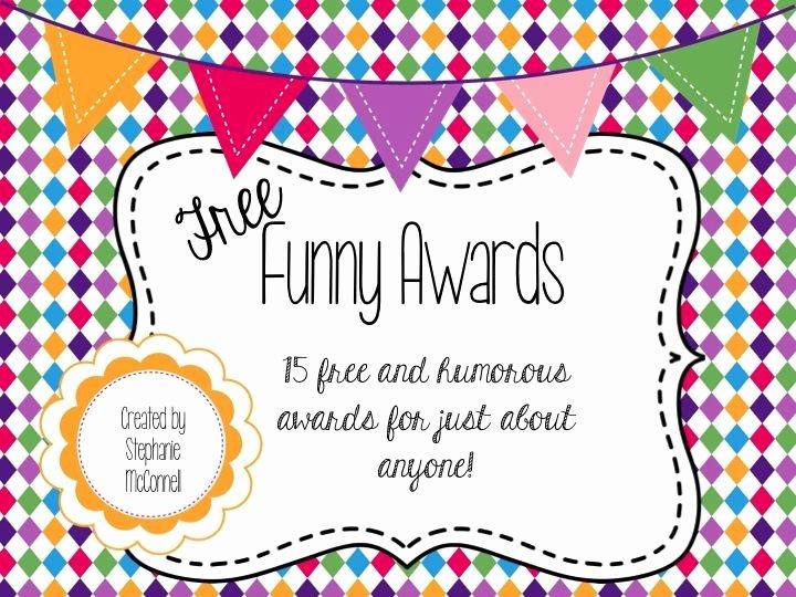 Funny Class Awards Ideas Fresh Free Funny Awards School