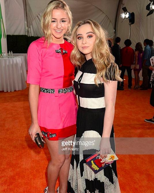 Funny Dance Team Awards Inspirational Chloe and Sabrina Carpenter