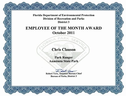 Funny Employee Of the Month Certificate New Funny Employee Award Certificate Templates