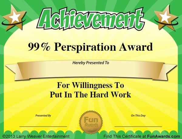 Funny Employee Of the Month Certificate New Funny Nurse Awards Work