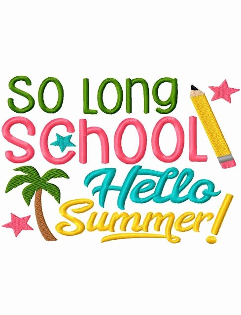 Funny End Of School Year Pictures New Schools Out Summer Clipart School Out Summer Pencil and In