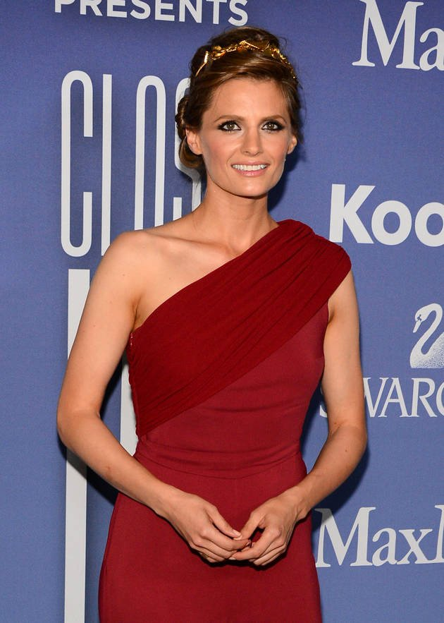 Funny Fraternity formal Awards Awesome Stana Katic Women In event Castle