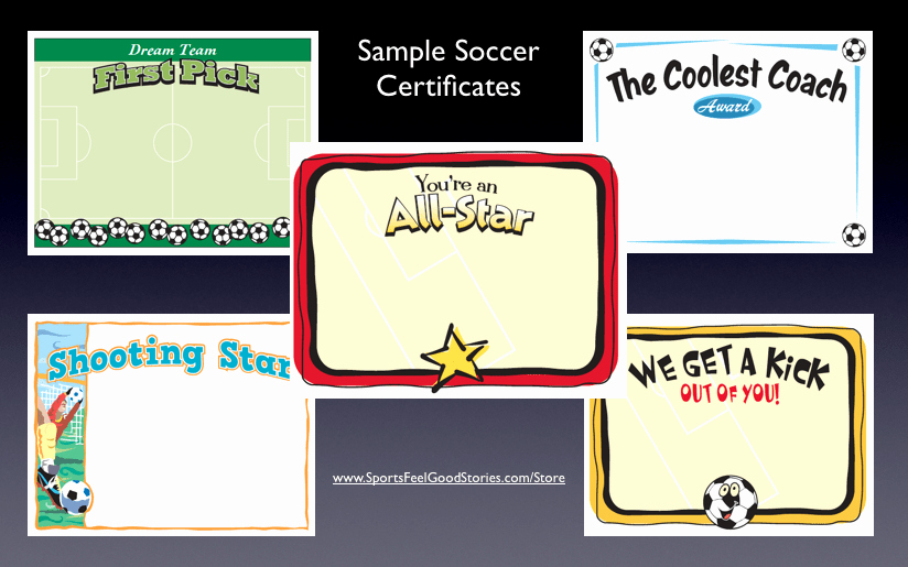 Funny soccer Award Certificates Lovely Coaching Youth soccer Three Helpful tools