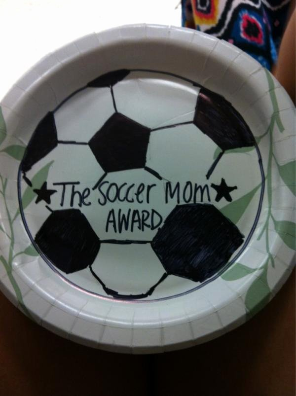 Funny soccer Award Ideas Best Of Funny Award Ideas Paper Plate Awards