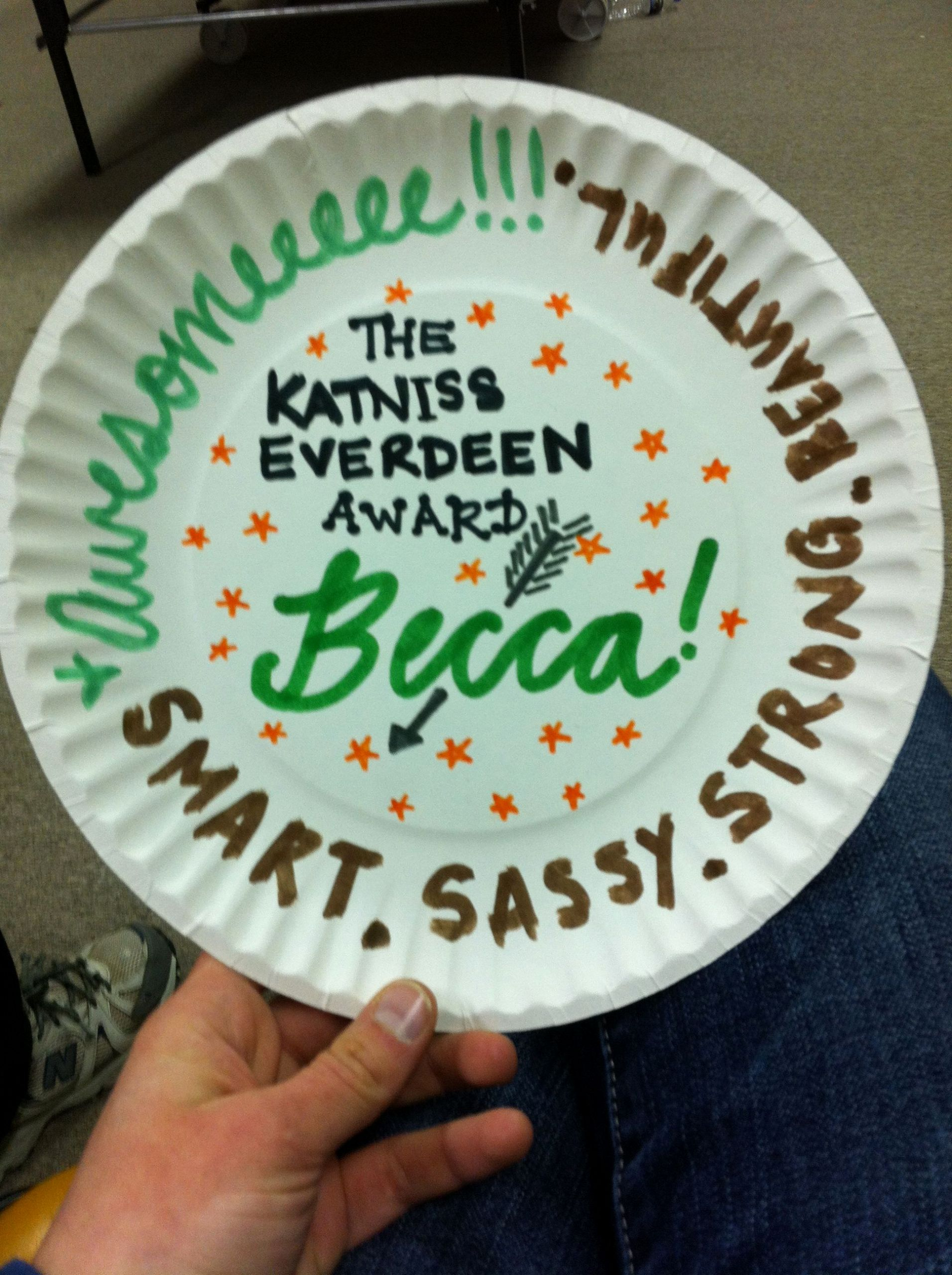 Funny soccer Awards for Kids Beautiful Paper Plate Awards A Great Way to End the Season