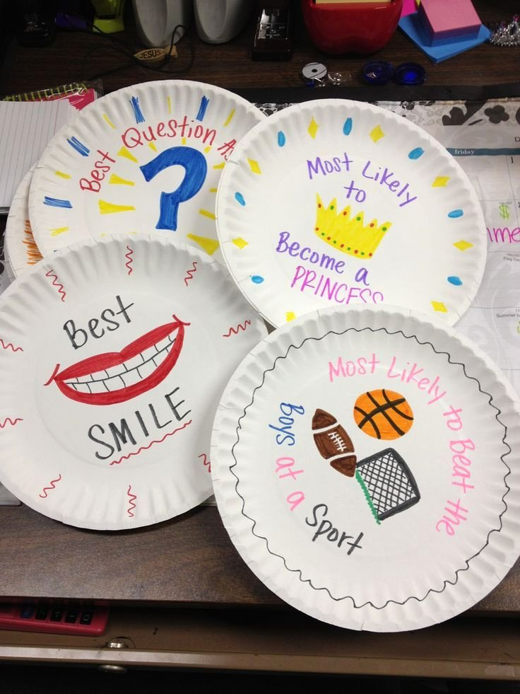 Funny soccer Awards for Kids Best Of Paper Plate Awards Give them Out at the End Of the Year