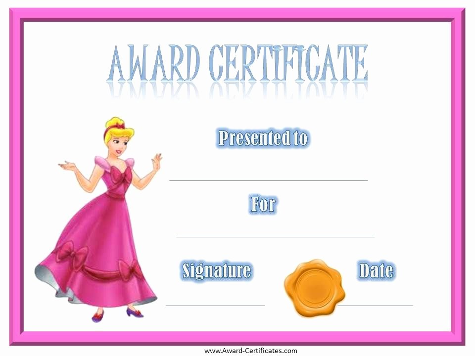 Funny soccer Awards for Kids Elegant Award Certificate