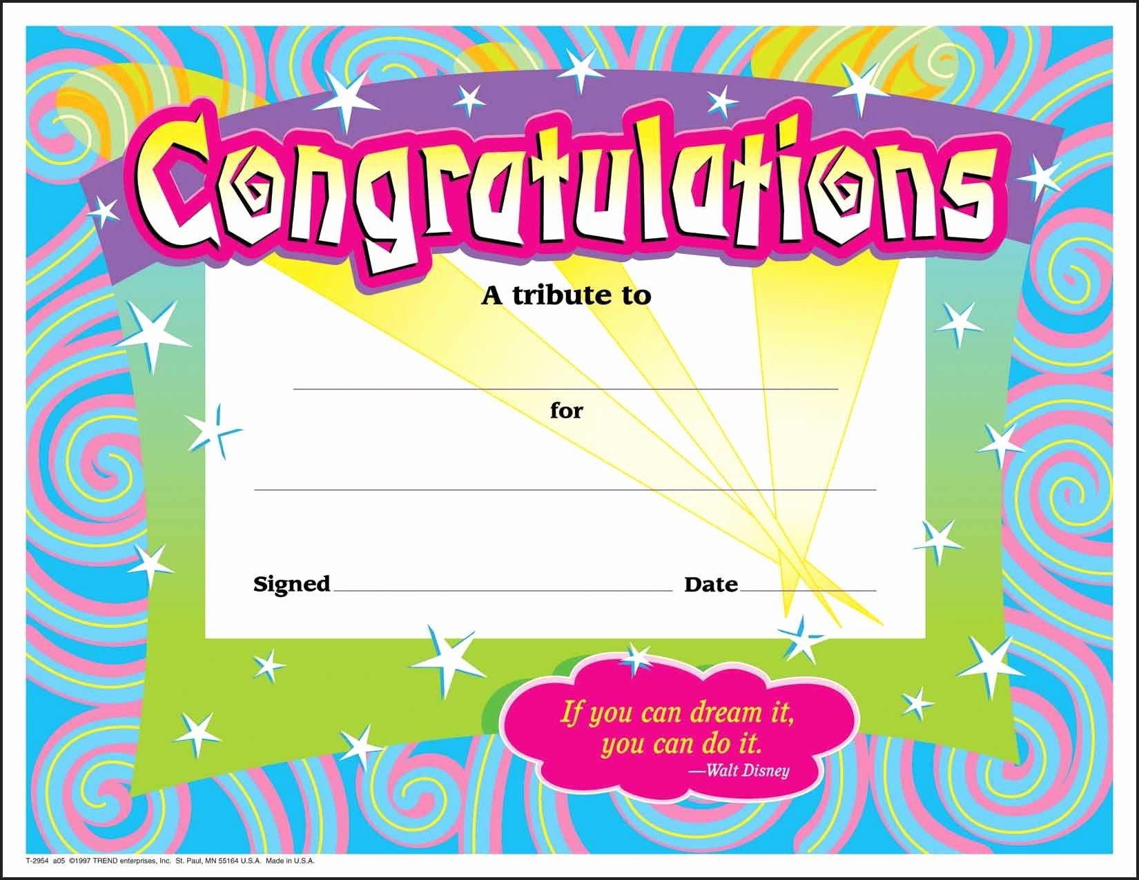 Funny softball Awards Certificates Beautiful 30 Congratulations Award Large Swirl Certificate Award