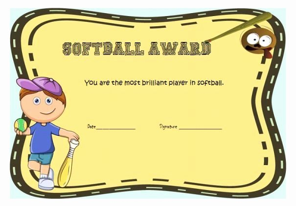 Funny softball Awards Certificates Beautiful Best 10 Funny Certificates Ideas On Pinterest