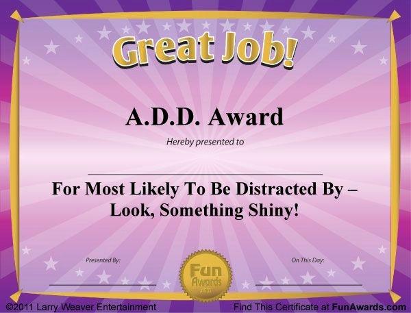 Funny softball Awards Certificates New Free Funny Award Certificates Templates