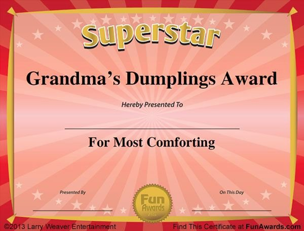 Funny Sports Awards Certificates Inspirational Humorous Awards 600×457 Pixels