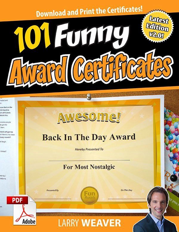 Funny Trophy Ideas for Work Best Of Fun Awards Funawards
