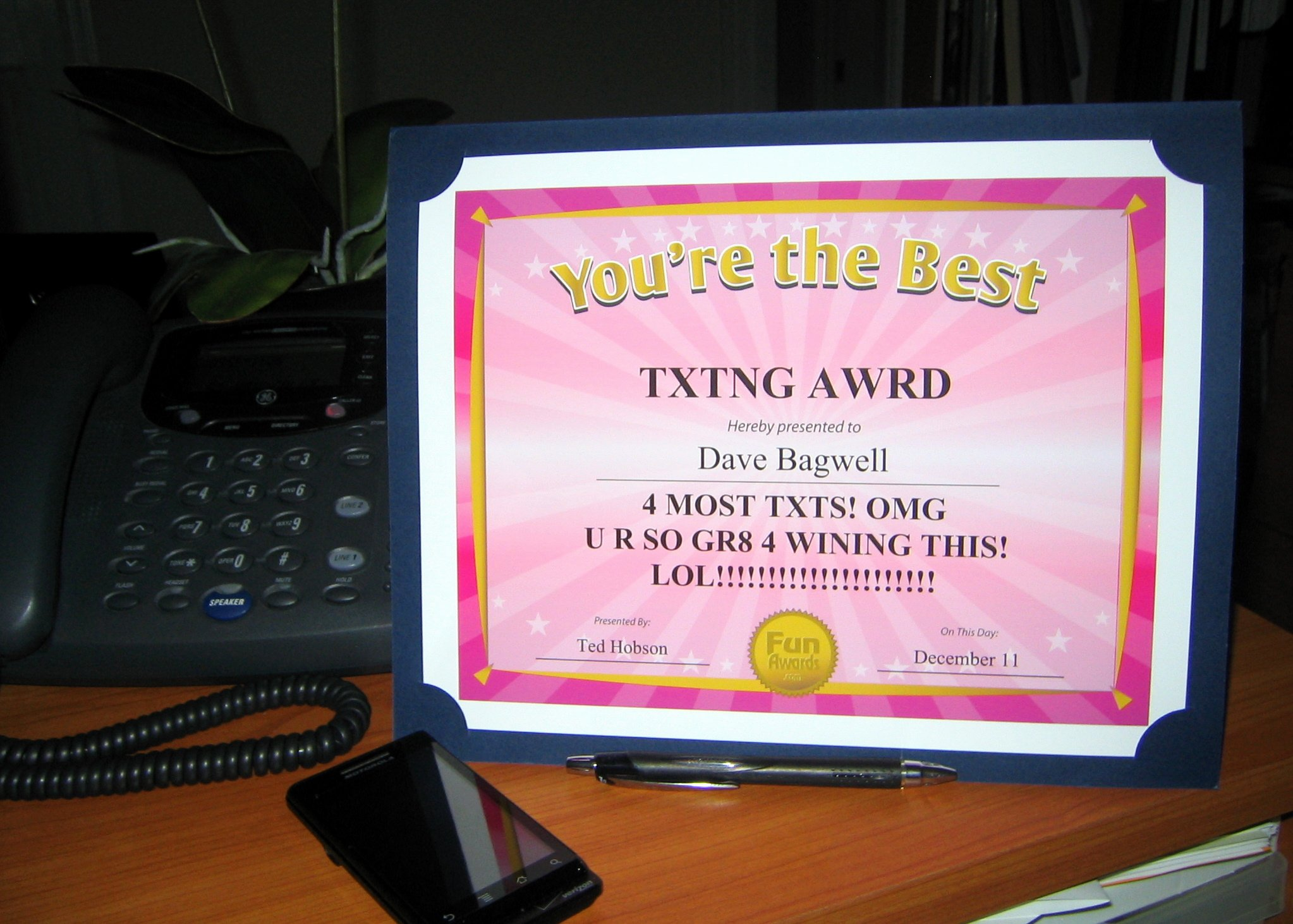 Funny Trophy Ideas for Work Lovely Funny Fice Awards – A Fun Alternative to Christmas
