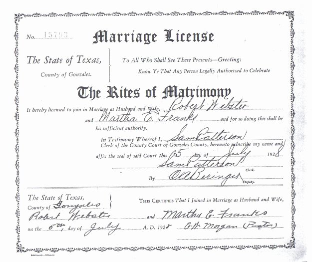 Gay Marriage Certificate Template Awesome Wedding Certificate Texas