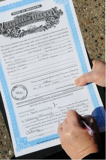 Gay Marriage Certificate Template Best Of Elope In St Louis