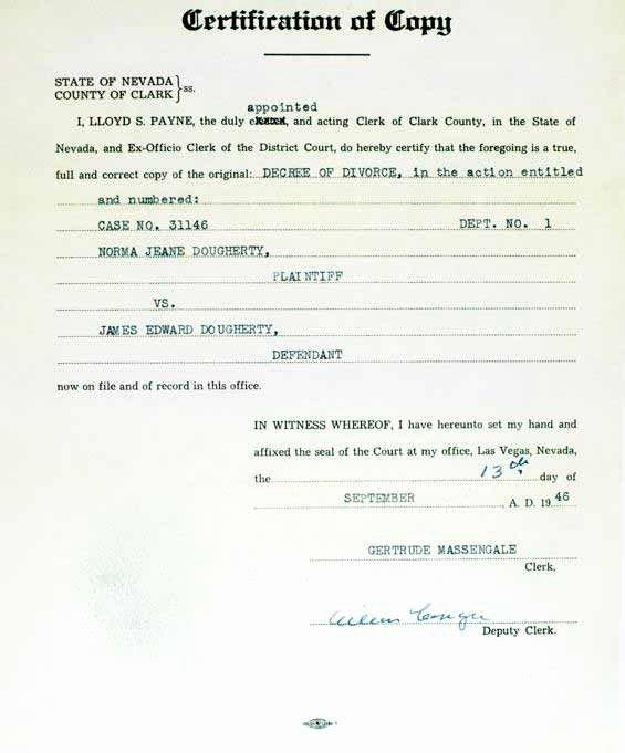 Gay Marriage Certificate Template Elegant Copy Of Final Divorce Decree Copy Of Final Divorce Decree