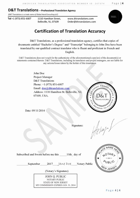 German Birth Certificate Template Elegant Translation Samples D&t Translations