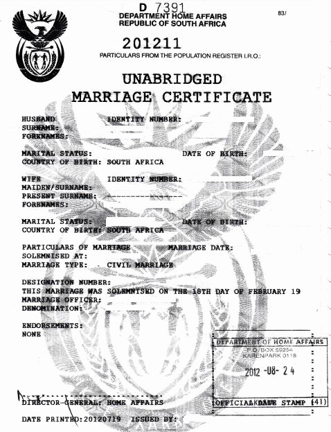 German Birth Certificate Template Unique Fastdocs Unabridged Marriage Certificate