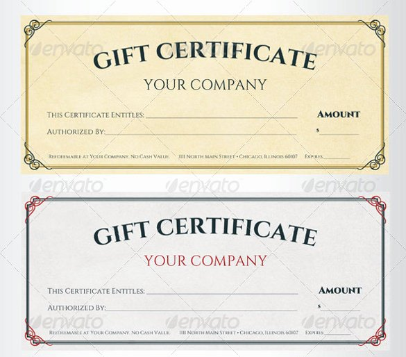 Gftlz Gift Certificate Template Download Lovely 56 Gift Certificate Templates