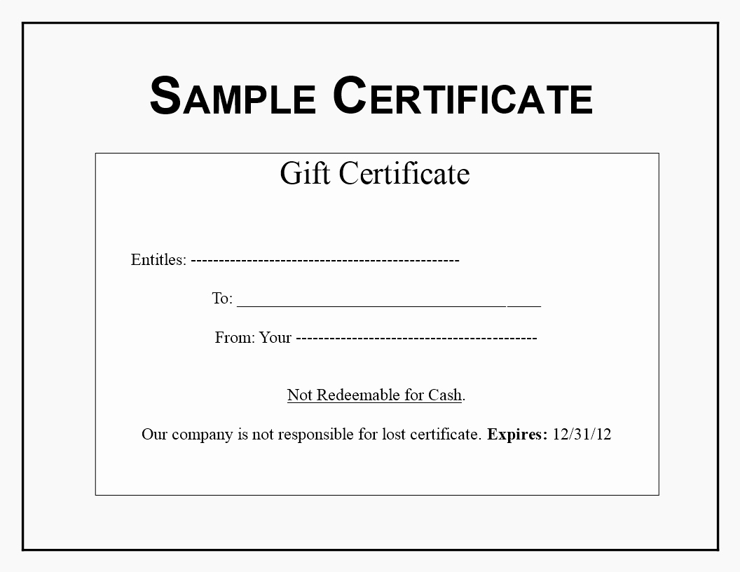 Gftlz Gift Certificate Template Download Lovely Gift Certificate Sample