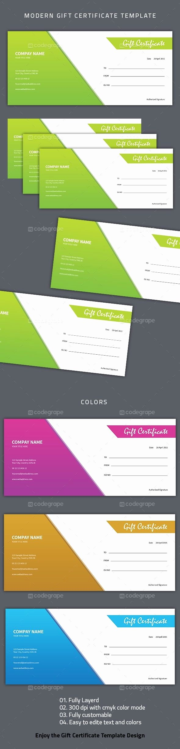 Gftlz Gift Certificate Template Download Lovely Pin by Codegrape On Prints