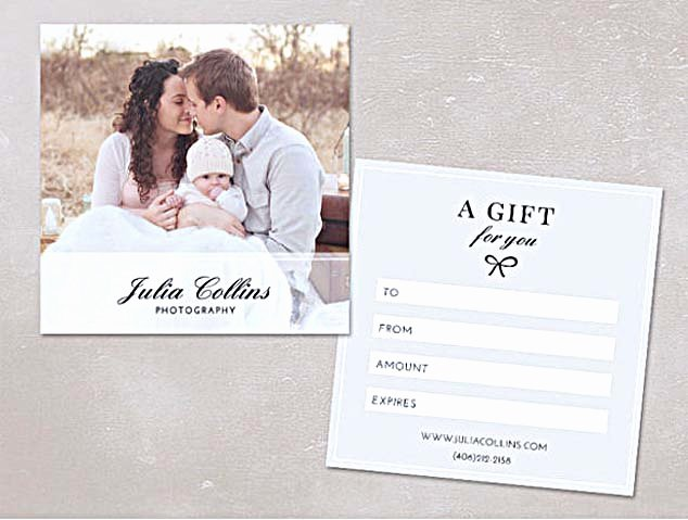 Gift Certificate Template Photography Awesome the Advantages Of Fering Graphy Gift Certificate