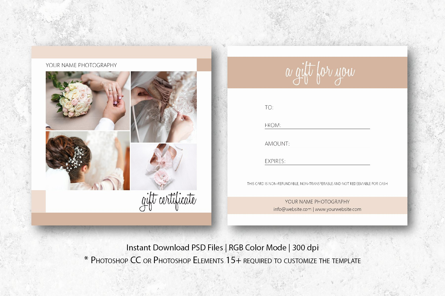 Gift Certificate Template Photography Best Of Graphy Gift Certificate Template