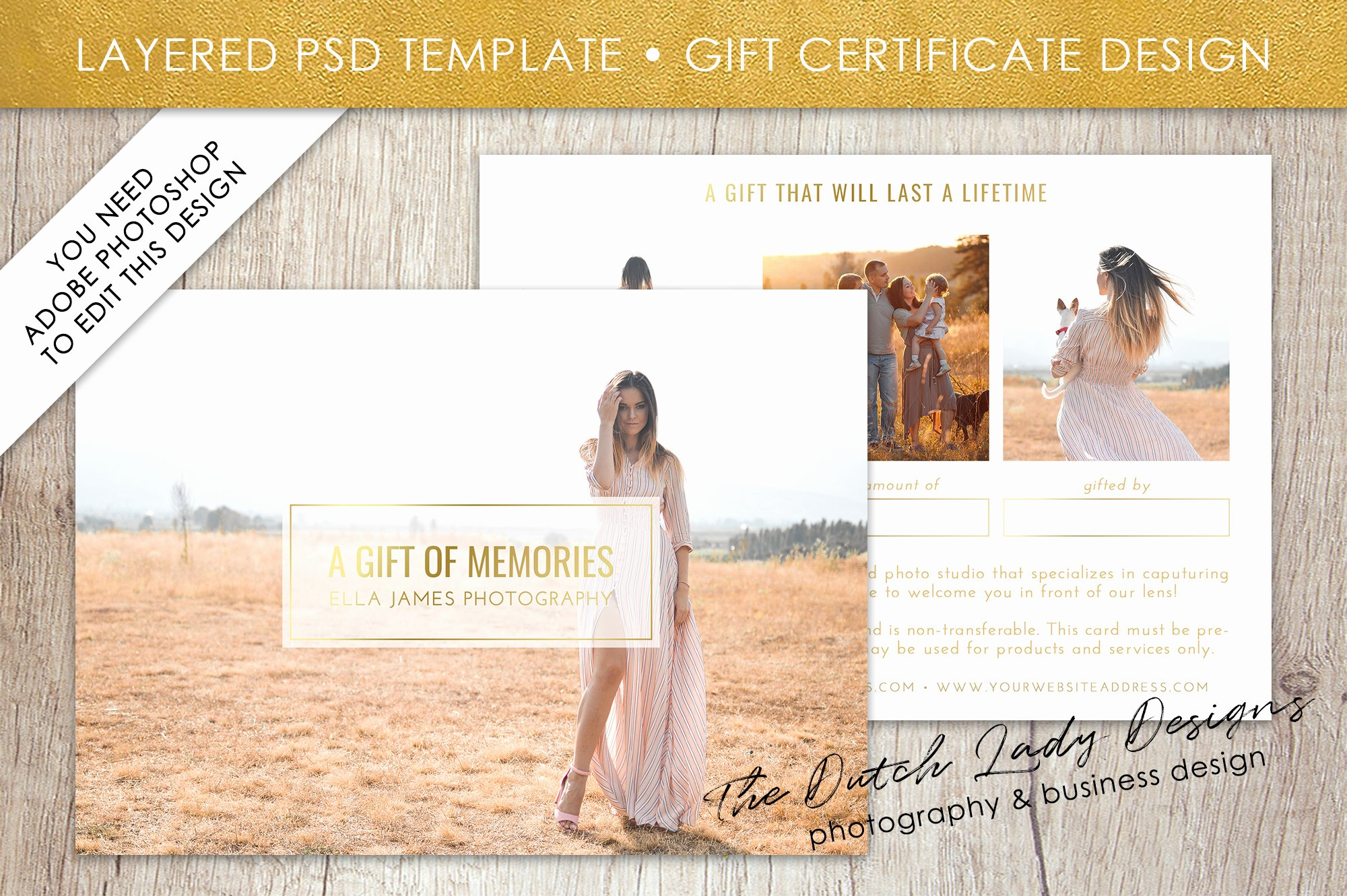 Gift Certificate Template Photography Luxury Graphy Gift Certificate Template Gift Card