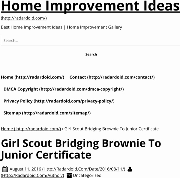 Girl Scout Bridging Certificate Template Inspirational Download Girl Scout Bridging Certificate for Free