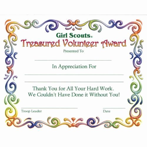 Girl Scout Daisy Certificate Template Fresh Girl Scout Investiture Certificate Juniors