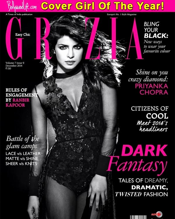 Girlfriend Of the Year Award Inspirational Priyanka Chopra Titled Cover Girl the Year at Grazia