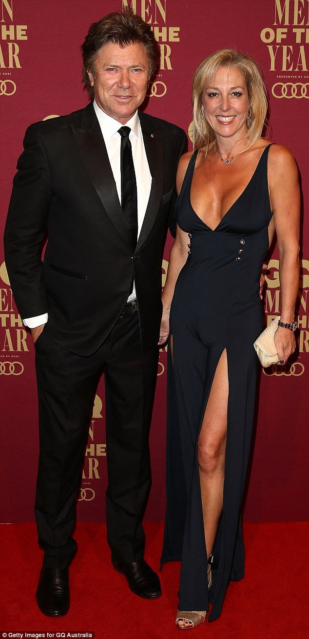 Girlfriend Of the Year Award Lovely Richard Wilkins is Upstaged by Girlfriend at Gq Awards