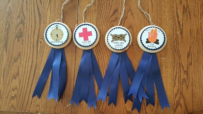 Girls Camp Award Ideas Unique Awards I Made for Scout Camp Scouts