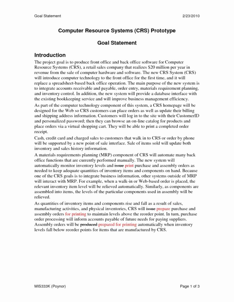 Goal Statement for College Elegant Graduate School Spreadsheet Spreadsheet Downloa