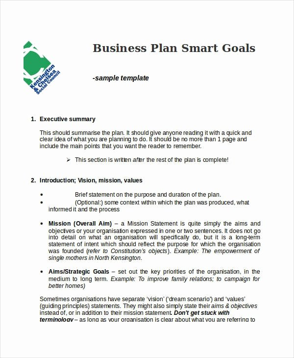 Goals Statement Examples Elegant Free 30 Smart Goals Examples & Samples In Pdf