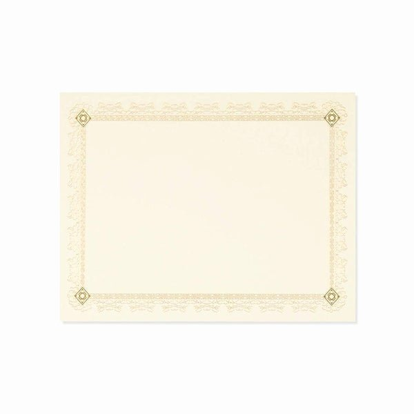 Gold Border Certificate Paper Inspirational Shop 48pcs Blank Certificate Gold Leaf Borders Paper