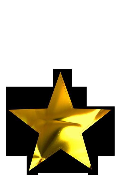 Gold Star Award Template Best Of Gold Star Template Clipart Best