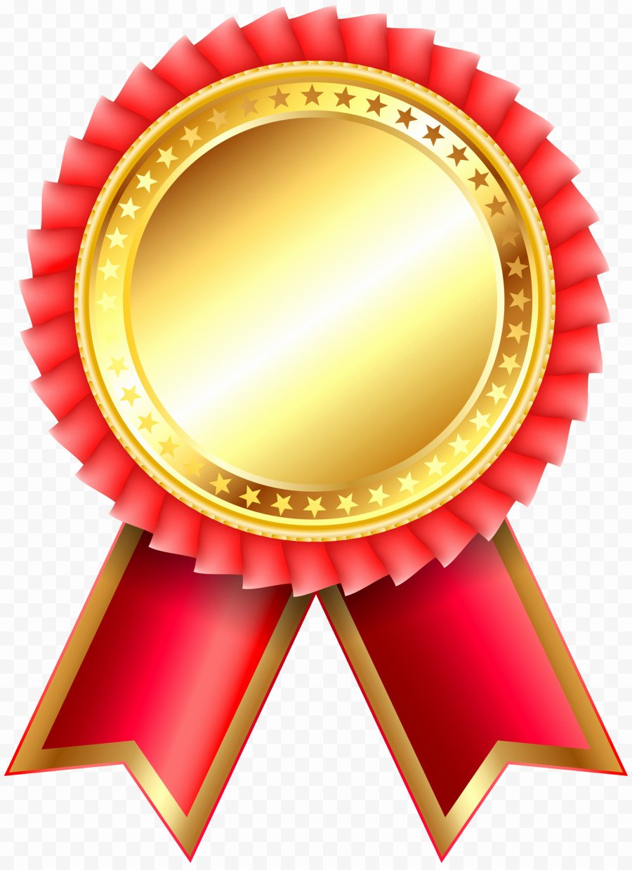 Gold Star Award Template Lovely Award Ribbon Rosette Clip Art Academic Png