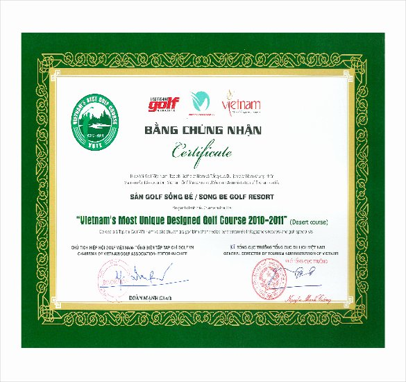 Golf Certificate Templates for Word Beautiful 11 Word Award Templates Download Psd Ai Word