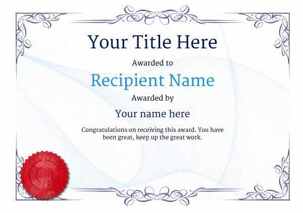 Golf Certificate Templates for Word Lovely Free Golf Certificate Templates Add Printable Badges