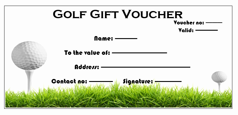 Golf Certificate Templates for Word New 11 Free Gift Voucher Templates – Microsoft Word Templates